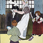 Mother Goose, 1916 Art Print by Granger
