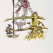 Mother Goose: Bo-peep Art Print