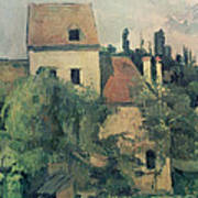 Moulin De La Couleuvre At Pontoise Art Print