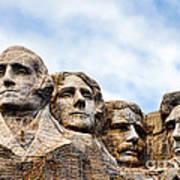 Mount Rushmore Monument Art Print