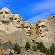 Mount Rushmore South Dakota Art Print