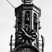 Munttoren Clock Tower Art Print