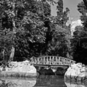 National Garden In Athens Art Print