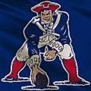 New England Patriots Uniform Art Print