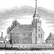 New Jersey Church, 1844 Art Print