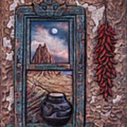 New Mexico Window Art Print
