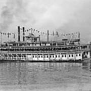 New Orleans Steamboat Art Print