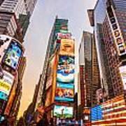 New York City - Times Square Art Print