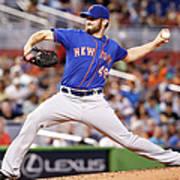 New York Mets V Miami Marlins Art Print