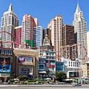 New York New York Casino Art Print
