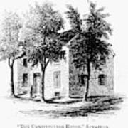 New York Senate, 1777 Art Print