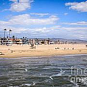 Newport Beach In Orange County California Art Print
