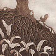 Nut Maze Art Print