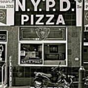 N.y.p.d. Pizza Art Print