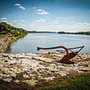Ohio River At Elizabethtown Illinois Art Print
