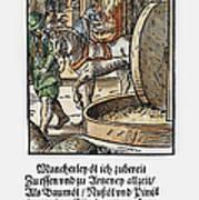 Oil Press, 1568 Art Print