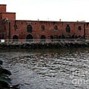 Old Brooklyn Pier Warehouse Art Print
