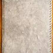 Old Paper Texture Art Print