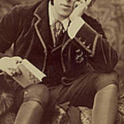 Oscar Wilde 1882 Art Print by Napoleon Sarony