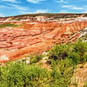 Painted Desert National Park Panorama Art Print