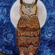 Paisley Moon Art Print