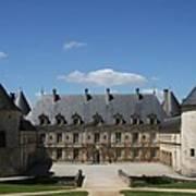 Palace Bussy Rabutin - Burgundy Art Print