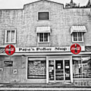 Papa's Poboy Shop Art Print