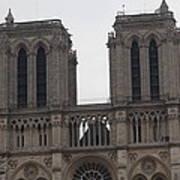 Paris France - Notre Dame De Paris - 01133 Art Print