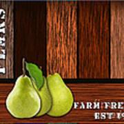 Pear Farm Art Print