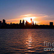 Philadelphia Sunset Art Print