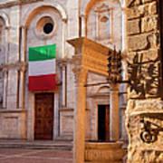 Pienza Tuscany Art Print