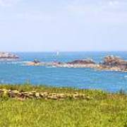 Pointe Du Grouin - Brittany Art Print