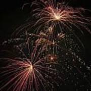 2 Pop Fireworks Art Print
