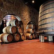 Porto Wine Cellar Art Print