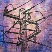 Power Lines Art Print