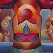Puerta Solar Print by Aliosha Valle