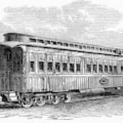 Pullman Car, 1869 Art Print