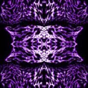Purple Series 5 Art Print