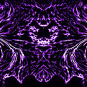 Purple Series 8 Art Print