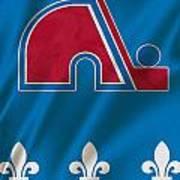 Quebec Nordiques Art Print