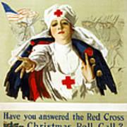 Red Cross Poster, C1918 Art Print