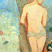 Redon's Saint Sebastian Art Print