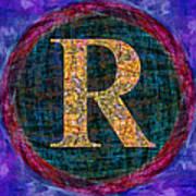 Registered Trademark Symbol Art Print