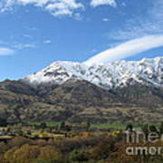 Remarkables Mountains Art Print