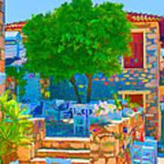 Colourful Restaurant Art Print