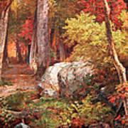 Richards' October Art Print