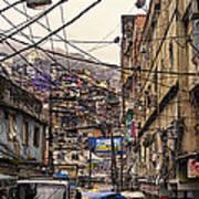 Rio De Janeiro Brazil - Favela Art Print