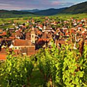 Riquewihr Alsace Art Print