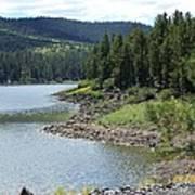 River Reservoir Art Print