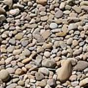 River Rocks Pebbles Art Print